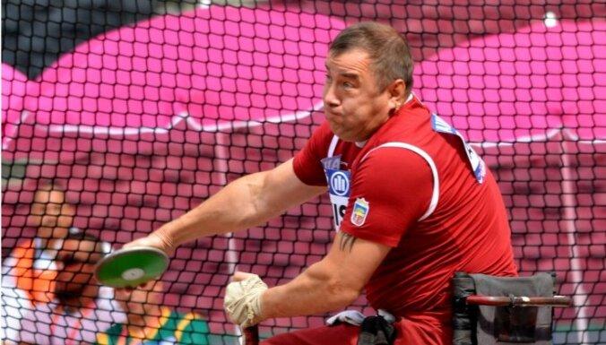 Латвийский параолимпиец Апинис завоевал золото чемпионата мира