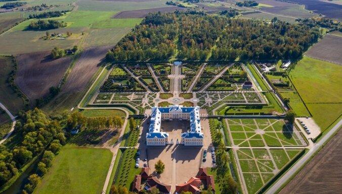 Rundāles pils ansambi iekļauj UNESCO Pasaules mantojuma Latvijas Nacionālajā sarakstā