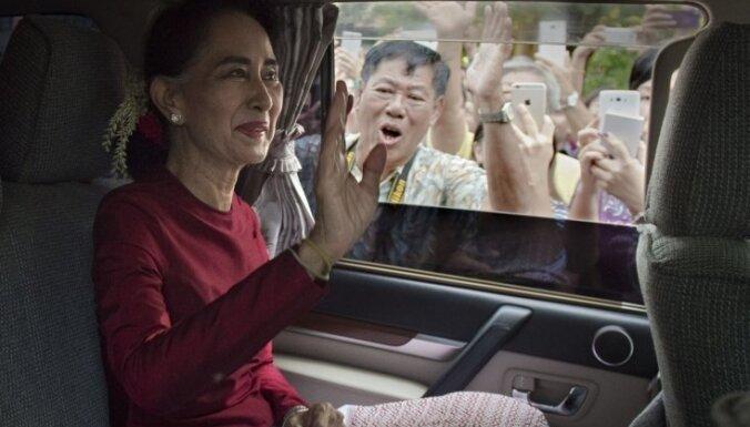 В Мьянме произошел военный переворот. Задержана лидер страны Аун Сан Су Чжи