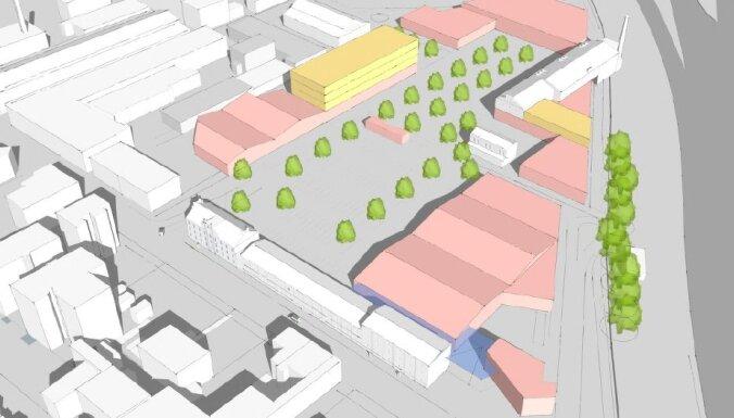 В центре Риги на территории Rīgas Piensaimnieks может появиться новый торговый парк