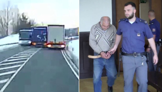 ВИДЕО: В Германии водителя приговорили к двум годам тюрьмы за опасный обгон