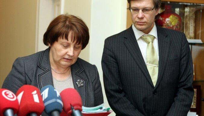 Лаймдота Страуюма официально назовет новый состав правительства