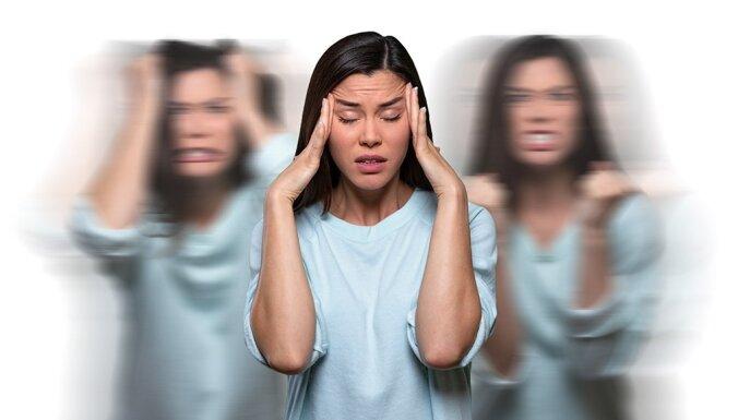 Перепады настроения перед менструацией