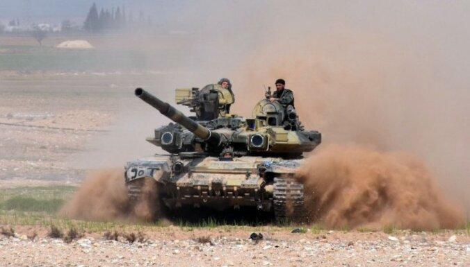Krievijas algotņi Sīrijā: Kaujā krituši un ievainoti 300 cilvēki, izpētījis 'Reuters'