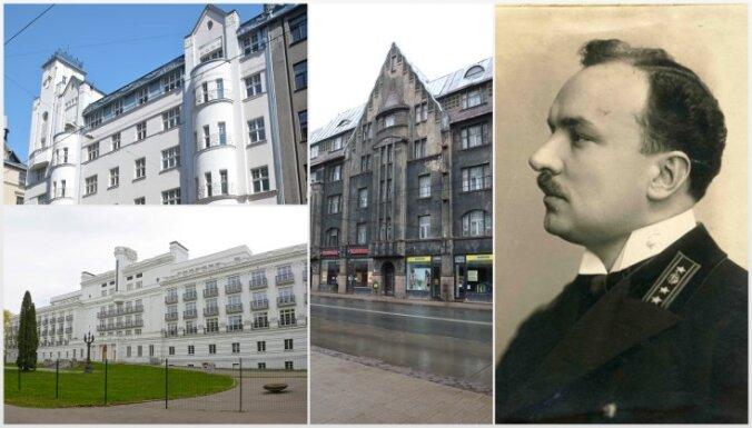 Ķemeru Baltā pils un Rīgas staltākie nami. Arhitektam Eiženam Laubem – 140
