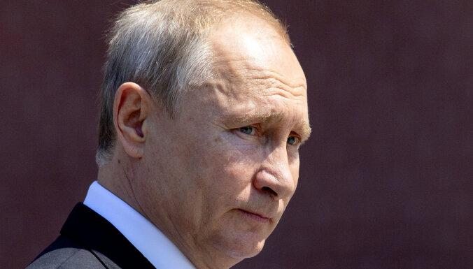 Путин внес в Госдуму проект закона о поправках в конституцию
