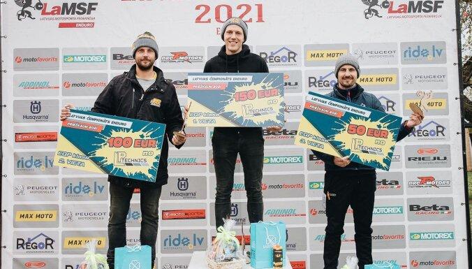 Latvijas čempionātā enduro EGP klasē uzvar Grīnfelds