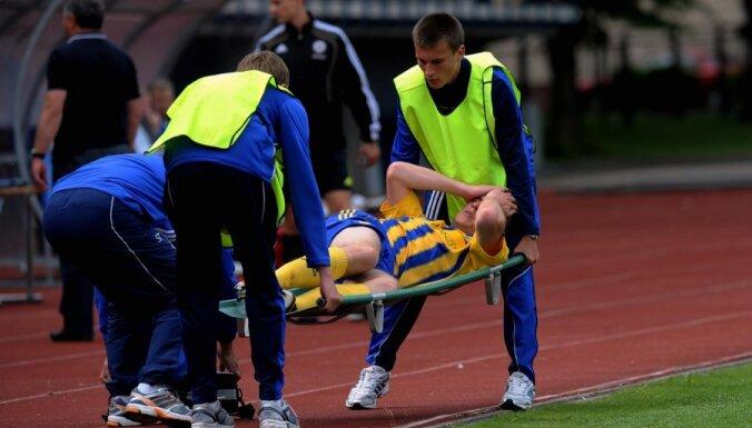FK 'Ventspils' pieprasa uz mūžu diskvalificēt 'Skonto' aizsargu Kačanovu