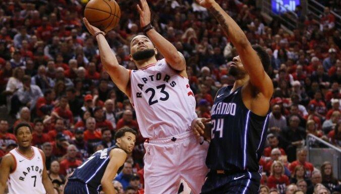 'Raptors' NBA izslēgšanas turnīrā zaudē 'Magic' komandai