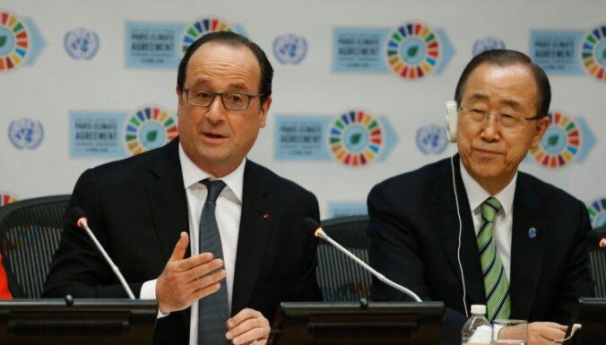 Страны ООН подписали соглашение по климату