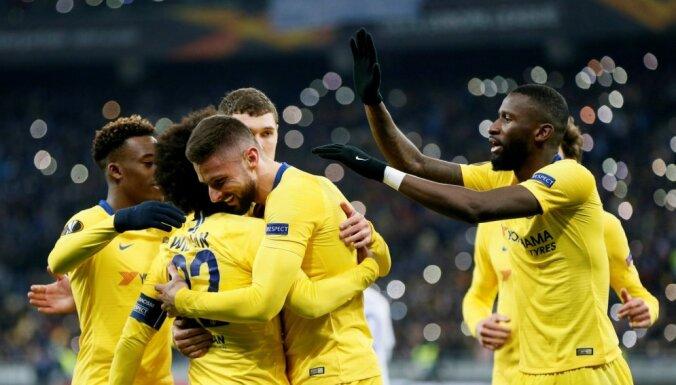 'Chelsea' Kijevā nepažēlo vietējo 'Dinamo'