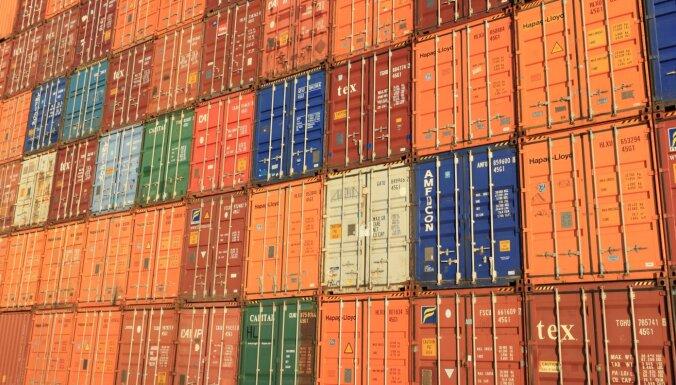Ekonomisti: preču eksports pieredz strauju uzplaukumu
