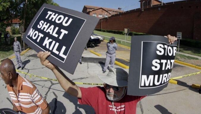 Teksasā izpildīts 500. nāvessods kopš 1982. gada