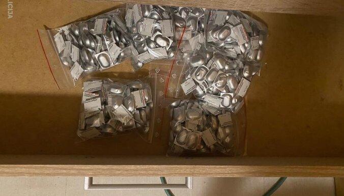 Рига: полиция и спецназ задержали наркодиллеров, изъяты наркотики на 25 000 евро