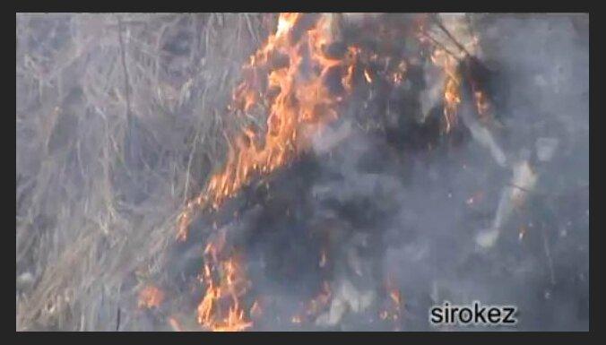 Пришла весна - горит трава (видео)