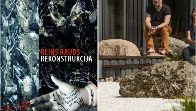 Latviski izdots igauņu rakstnieka Reina Rauda romāns 'Rekonstrukcija'