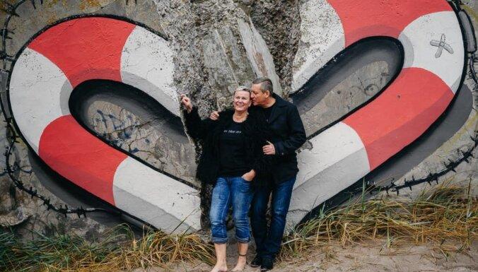 Linda Mūrniece pieņēmusi jaunā vīra uzvārdu un ziņo par laulības pirmo rītu