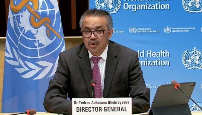 Covid-19: Ķīna nav ielaidusi valstī PVO koronavīrusa ekspertus