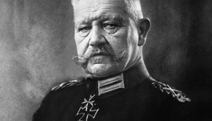 Berlīne svītro Hindenburgu no goda pilsoņu saraksta