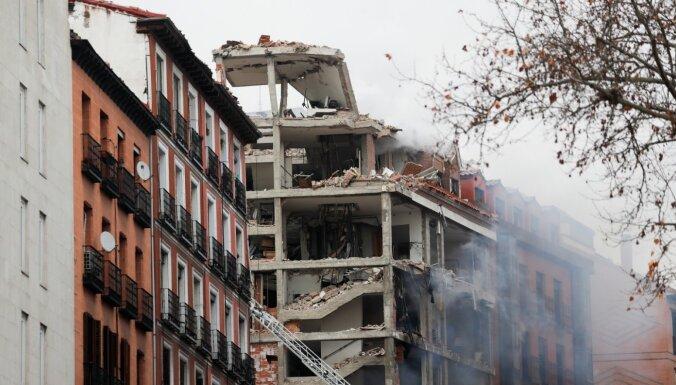 ВИДЕО: В центре Мадрида произошел взрыв