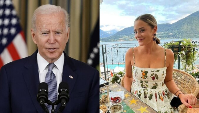 ASV prezidenta ģimene pošas kāzām – saderinājusies Baidena mazmeita