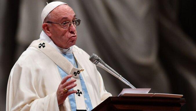 Папа Римский сравнил аборты с преступлениями нацистов