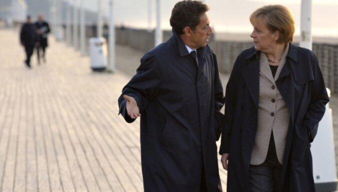 Merkele aktīvi piedalīsies Sarkozī priekšvēlēšanu kampaņā