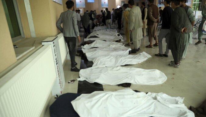 Sprādzienā Kabulā vismaz 30 cilvēki nogalināti