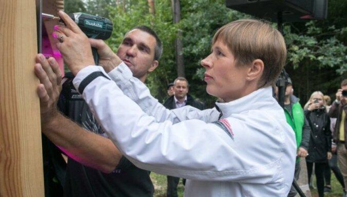 Президент Эстонии перенесла рабочее место в русскоязычную Нарву