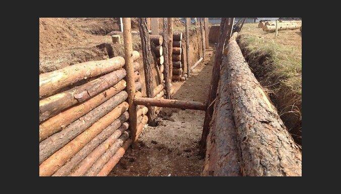 Украина построила на востоке три линии фортификационных сооружений