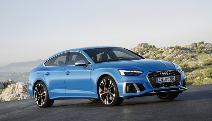 'Audi' modernizējis 'A5' modeļa saimi