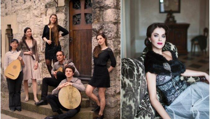 Senās mūzikas festivālu atklās Elīna Šimkus un 'Fantasia Ficta' no Šveices