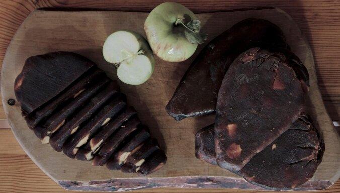 Lietuvas garšas: ābolu siers