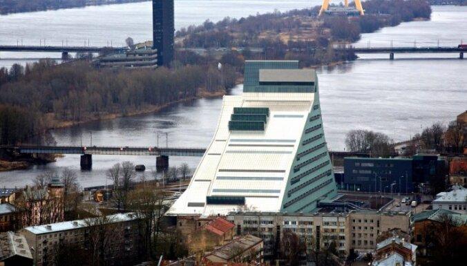 Левитс: Латвийская национальная библиотека — символ нашей культуры