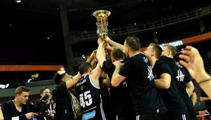Рижский ВЭФ в пятый раз завоевал золото чемпионата Латвии