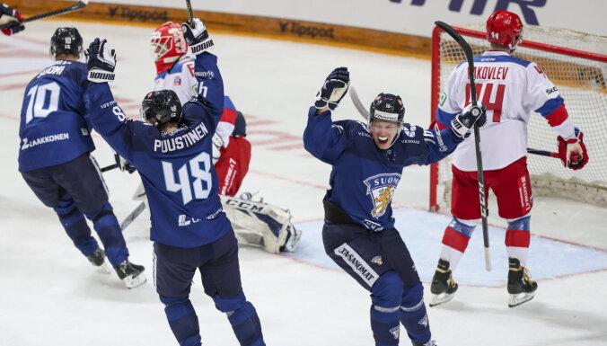 Неудачная разминка: как финны прервали победную серию сборной России