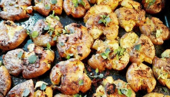 Soli pa solim: Kā pagatavot nepārspējami kraukšķīgus etiķotos kartupeļus