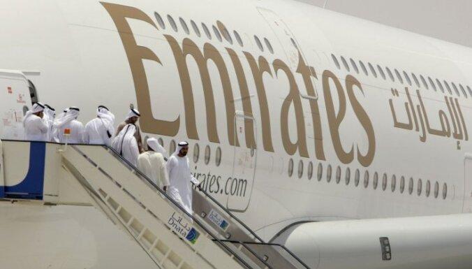 Arābu aviosabiedrība nākamgad atklās pasaulē garāko regulāro lidojumu maršrutu
