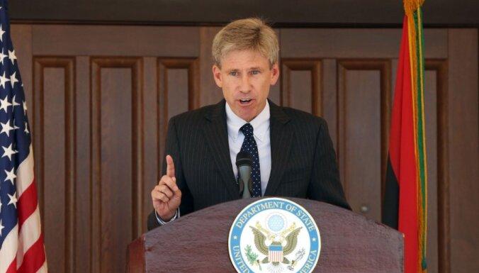 Nogalināts ASV vēstnieks Lībijā (17:32)