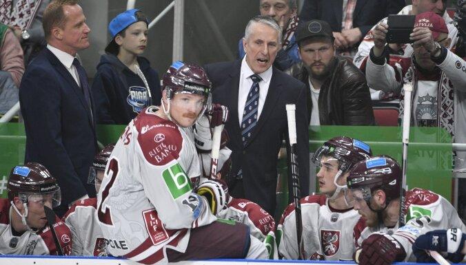 Сборная Латвии по хоккею проиграла швейцарцам и во втором проверочном матче