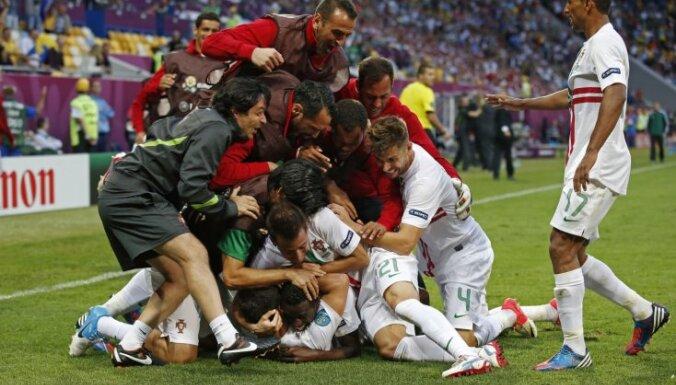 Дания едва не сотворила чудо с Португалией