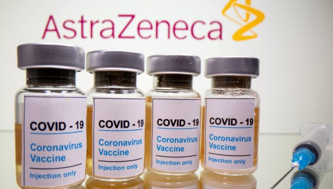 Latvija saņēmusi trešo 'AstraZeneca' ražotās vakcīnas piegādes daļu