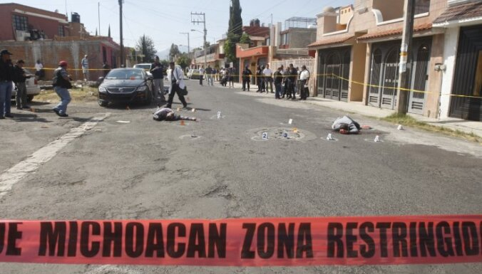 Aprit pieci gadi kopš narkokara sākuma Meksikā; bojā gājuši vairāk kā 47 tūkstoši cilvēku