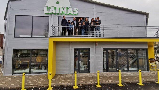 Pabeigta 300 000 eiro vērtā būvmateriālu veikala 'Laimas' celtniecība