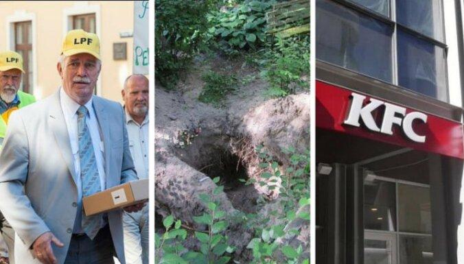 19 августа. Пикет пенсионеров, осквернение могил, гигант фаст-фуда США идет в Латвию