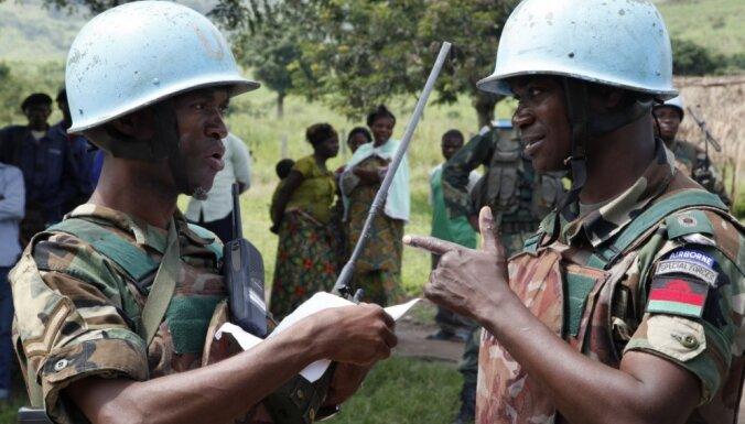 Kongo DR no slēpņa nogalināti ANO miera uzturētāji