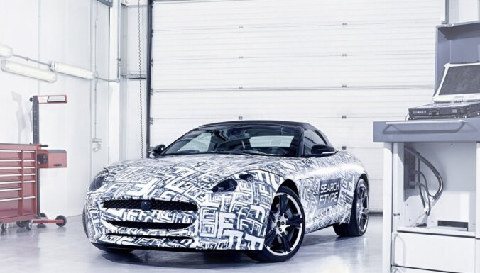 'Jaguar' oficiāli apstiprina 'F-type' sportisko modeli