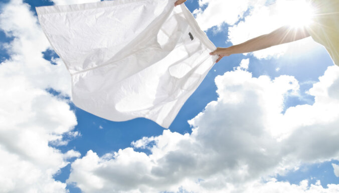 Kā mazgāt baltās drēbes