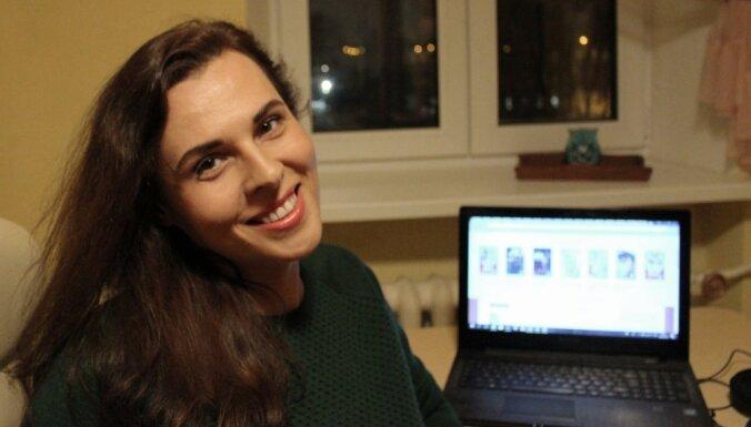 История успеха. Рижанка Яна Егорова за год написала 9 романов о любви