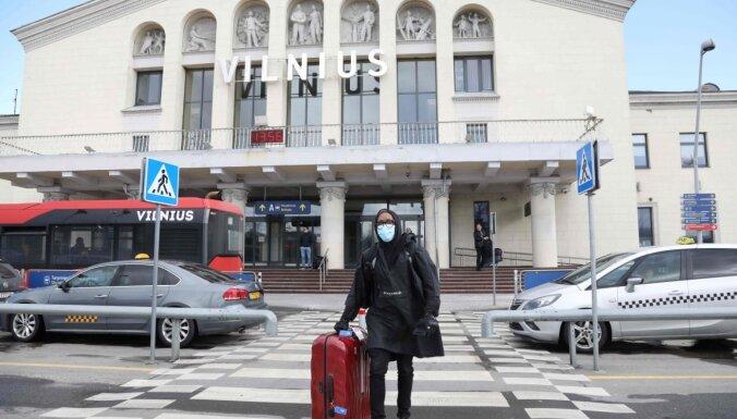 Lietuvas valdība: Ar svētdien Minskā nosēdināto 'Ryanair' lidmašīnu Viļņā neieradās pieci pasažieri